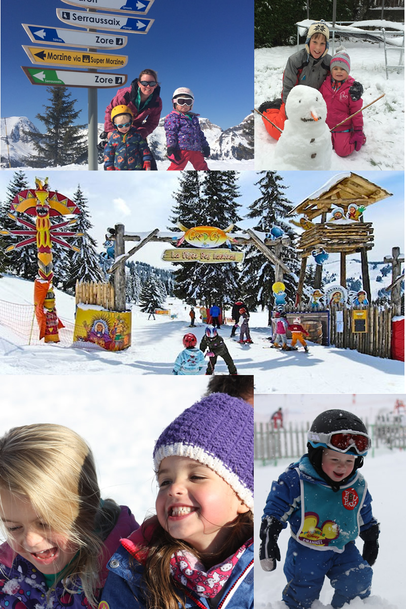 Family friendly skiing Morzine