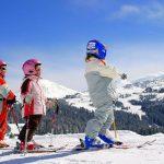 Skiing Morzine