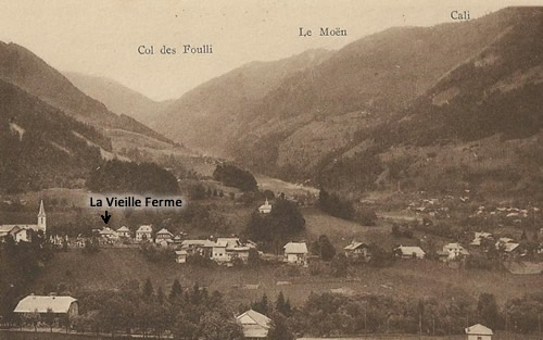 The village in the 1800s