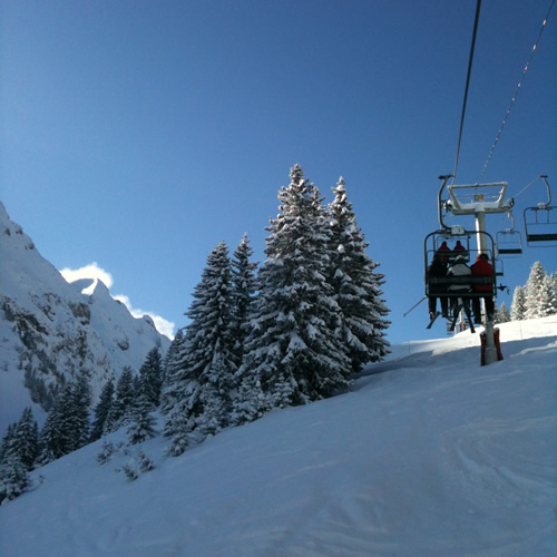 Learn French Ski Morzine